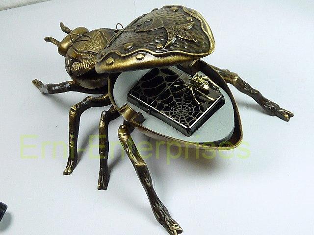zippo spider spinne 3d limited edition mit aschenbecher. Black Bedroom Furniture Sets. Home Design Ideas